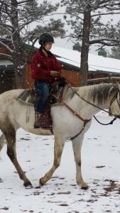 snowy horse 3